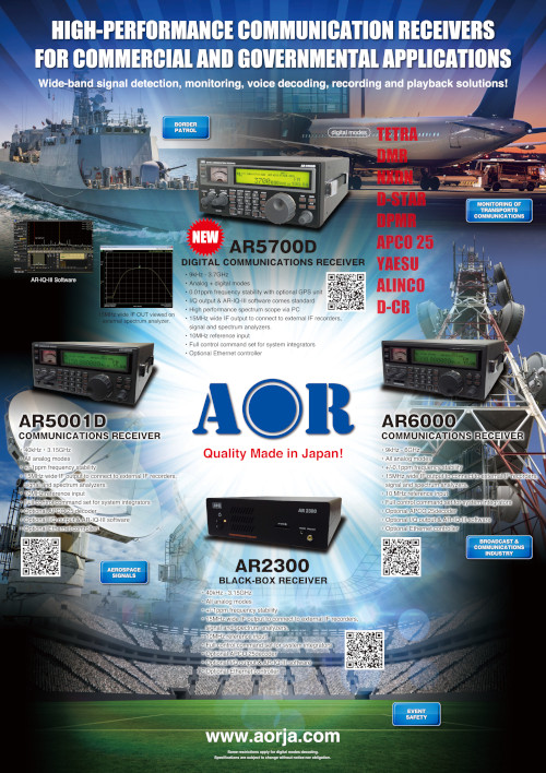 download AR2300 AR5001D AR6000 AR5700D Flyer