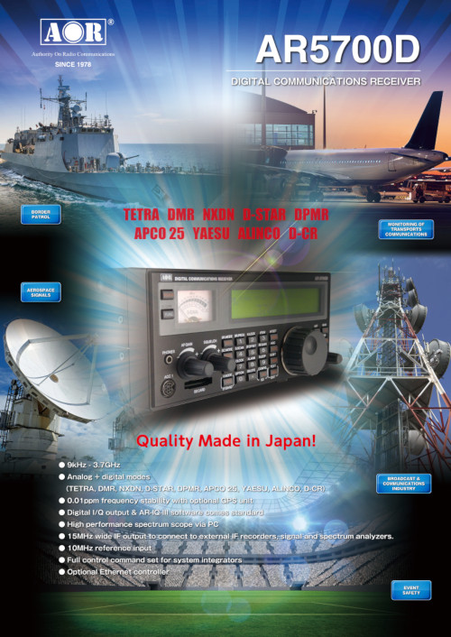 AR5700D DIGITAL COMMUNICATIONS RECEIVER