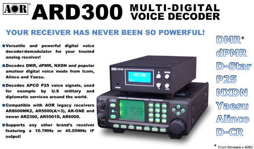 ARD300 MULTI-MODE DECODER