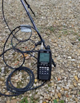 AR-DV10 Receiving voice communications from the downlink of a UHF satellite