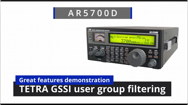 AR5700D GSSI demo video